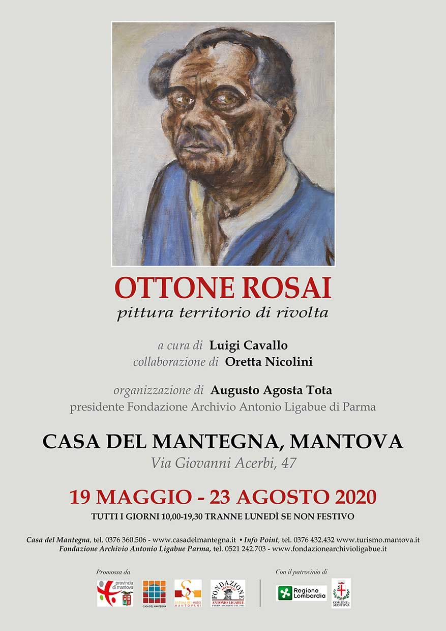 Gonfalone mostra Rosai